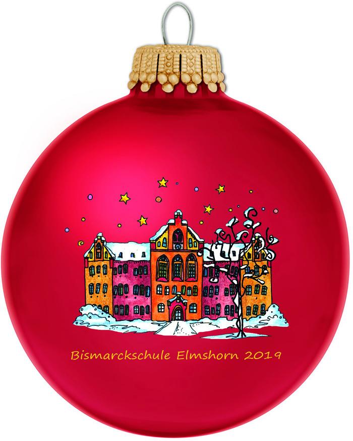 Die Elmshorner Weihnachtskugel 2019 City Elmshorn