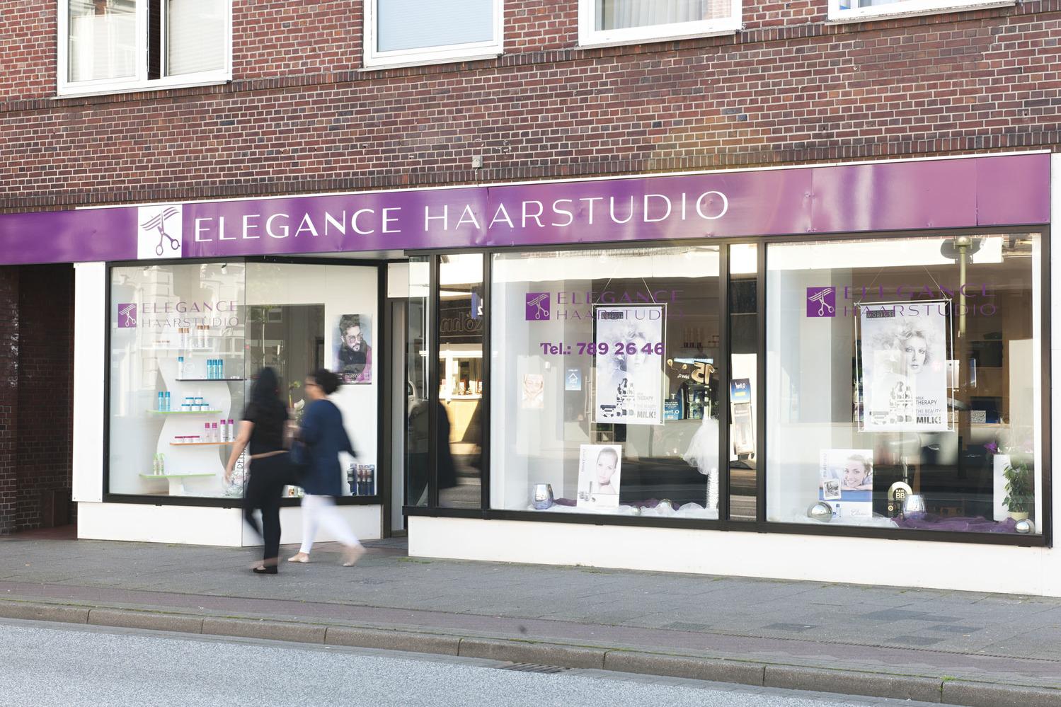 Elegance Haarstudio · Haarstyling, Haarpflege · City ElmshornFriseur Elmshorn